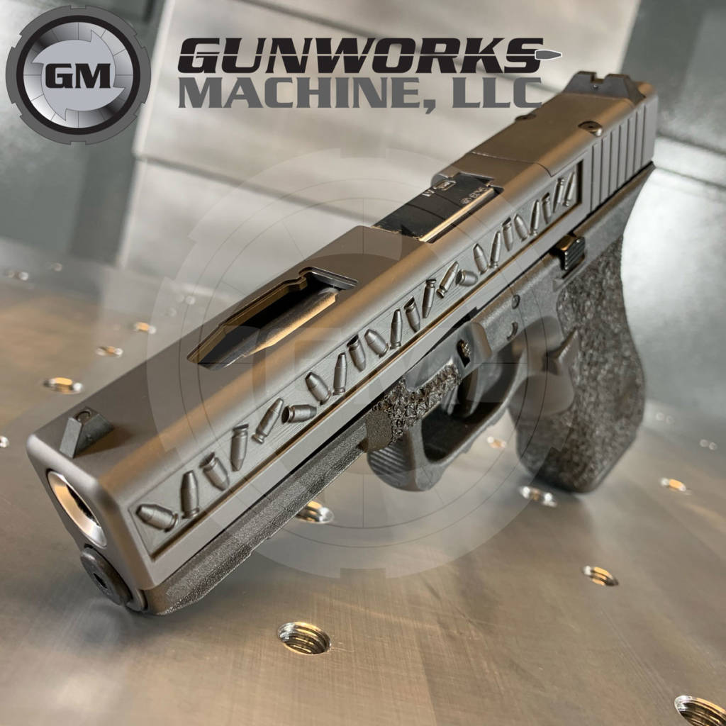 3D Small Freedom Seeds, Glock 17
