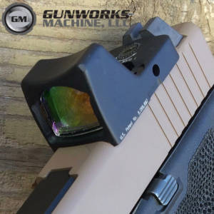 Glock 19, Trijicon RMR Cut