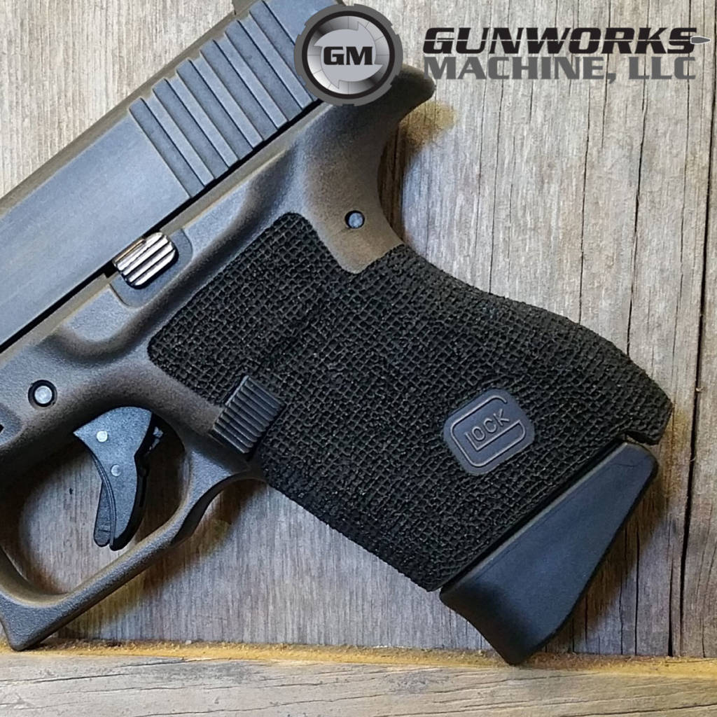 Two-Toned Tac 1 Full Grip Stipple, Waffle Pattern